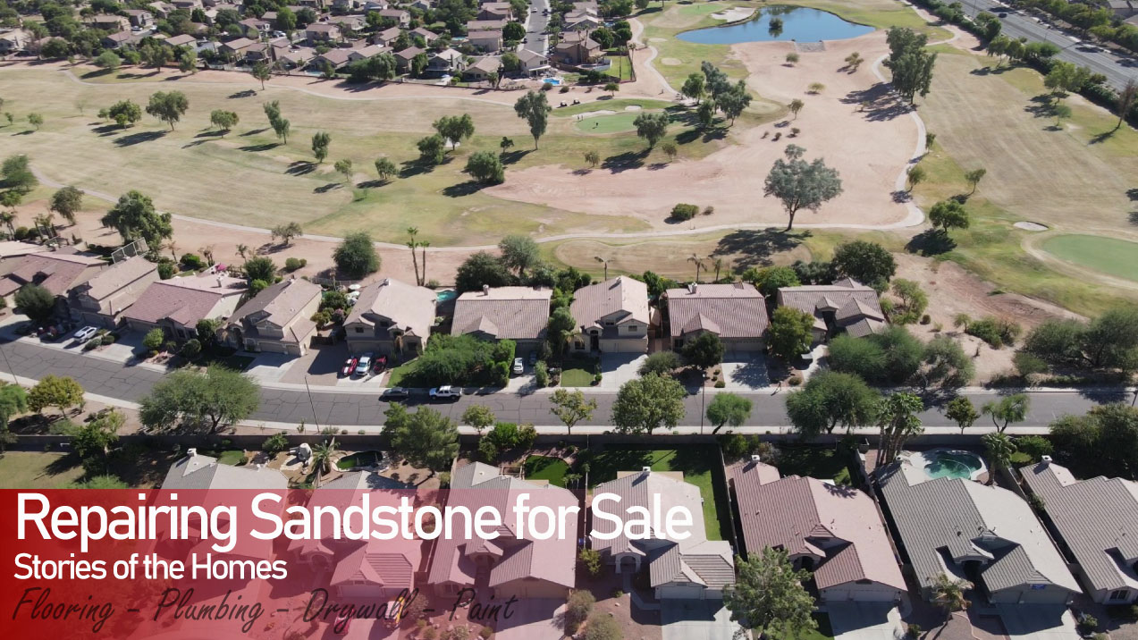 Repairing Sandstone Home for Sale in Just 3 Days | Stoney Built